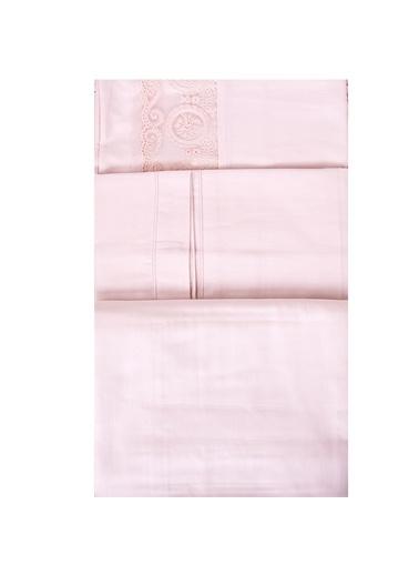 Elegance Nevresim Seti Çift Kişilik 200x220cm Pudra-Esse